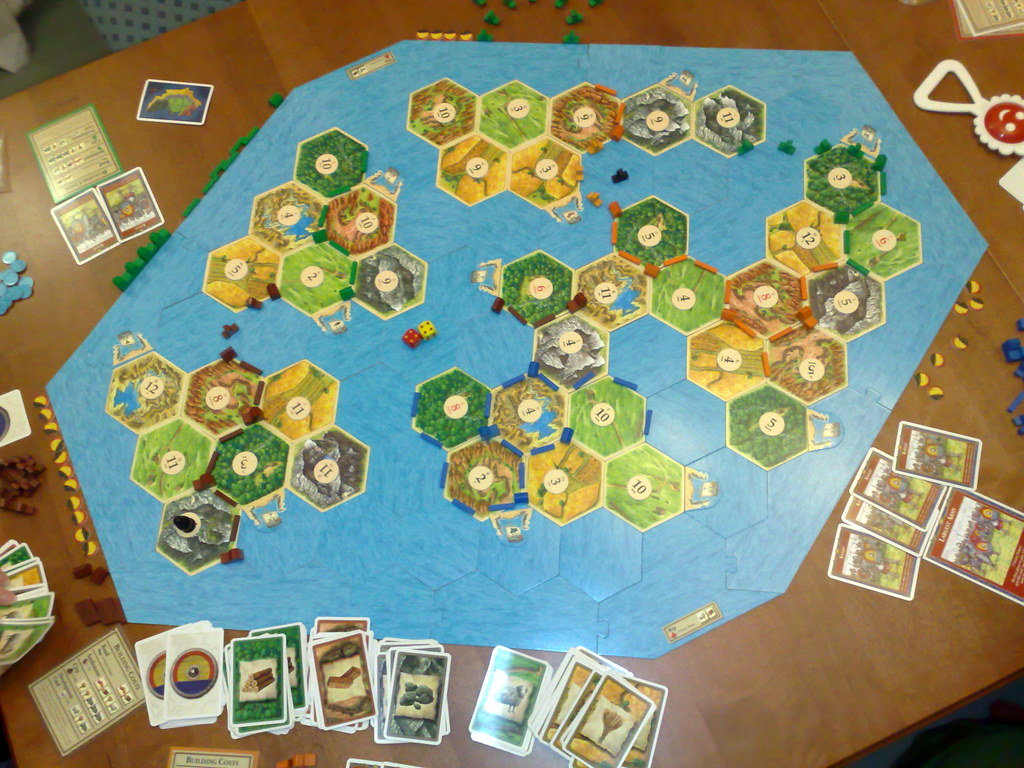 Settlers Of Catan Seafarers A Funny Way To Assemble The