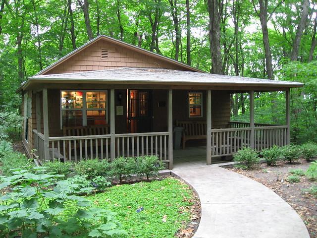 Landscape Arboretum Cabin Flickr Photo Sharing