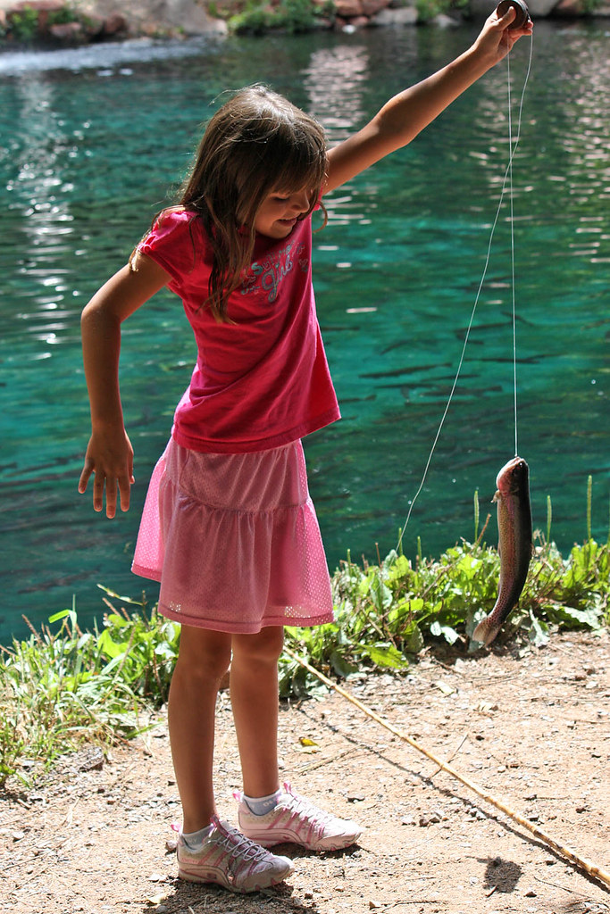 A Fish Caught by Summer Girl | An outing with my grand ...