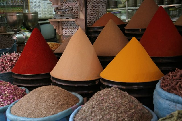 spice market, marrakech, morocco | there are so many spice s… | flickr