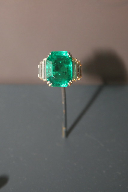 Emerald Diamond Ring Ebay