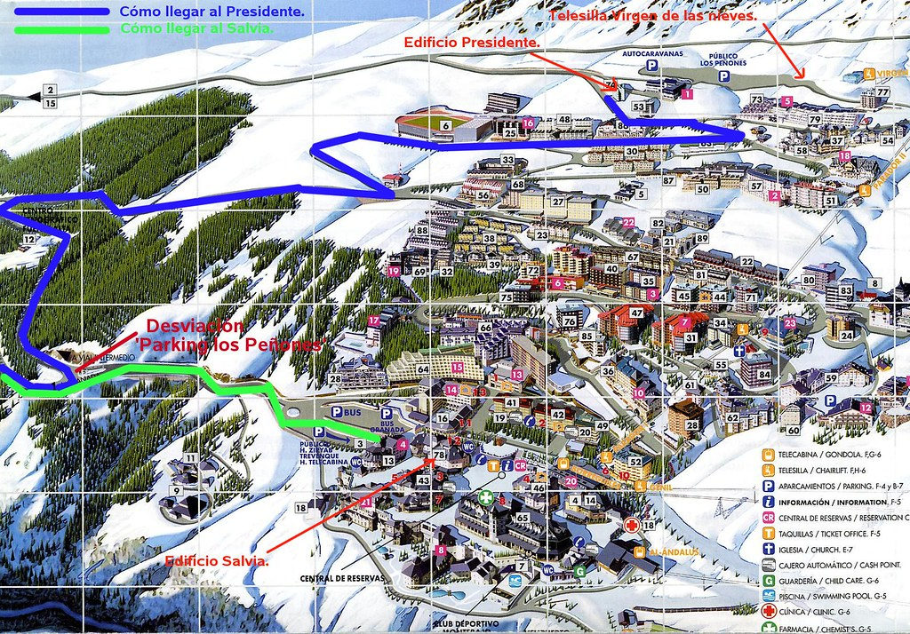 22 plano de la urbanizaci n de sierra nevada en este - Apartamentos baratos en sierra nevada ...