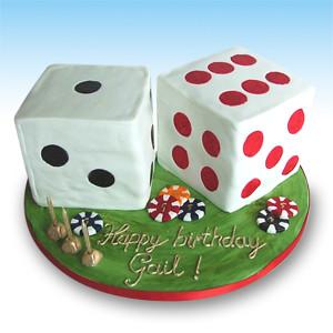 Vanilla Madeira Birthday Cake
