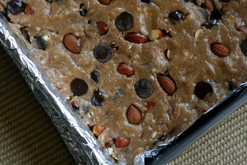 Almond Butter-Chocolate Chip Bars | by kristin :: thekitchensink