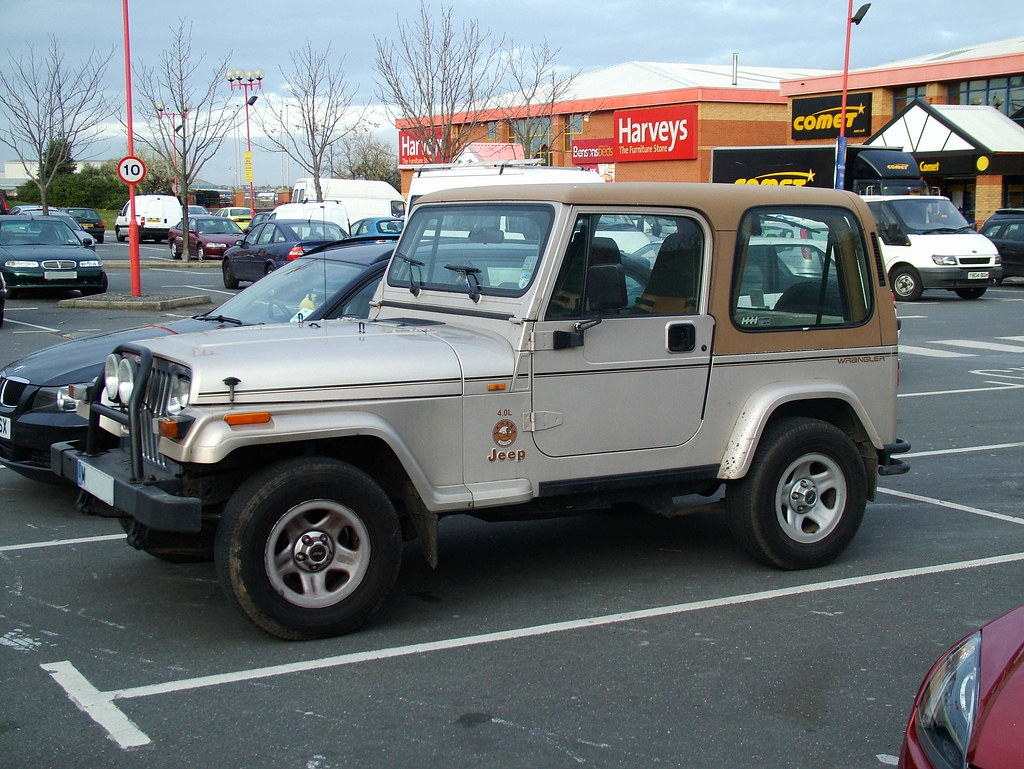 94 YJ Jeep Wrangler Sahara | 1994 YJ Jeep Wrangler Sahara ...