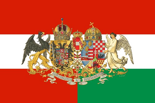 State Flag Of The United Danubian Empire Anachronistic
