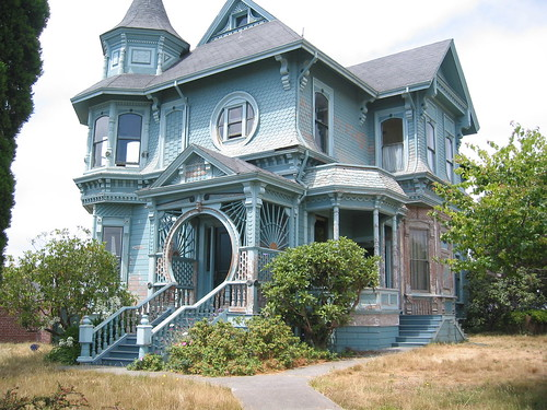 Queen anne arcata ca flickr photo sharing for Queen anne victorian homes
