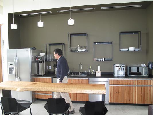 Modern office kitchen r s flickr - Modern office kitchen ...