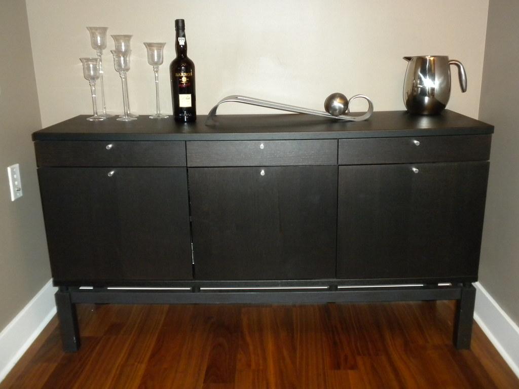ikea bjursta sideboard dimensions 35 l x 16 5 w x 29. Black Bedroom Furniture Sets. Home Design Ideas