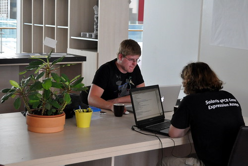 Coworking at Hub Vilnius | by mdanys