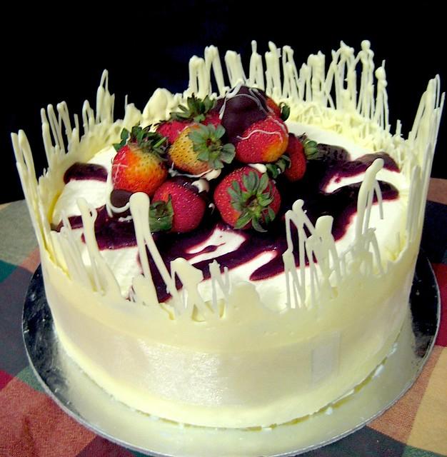 green tea ice cream cake pearlyn lee flickr
