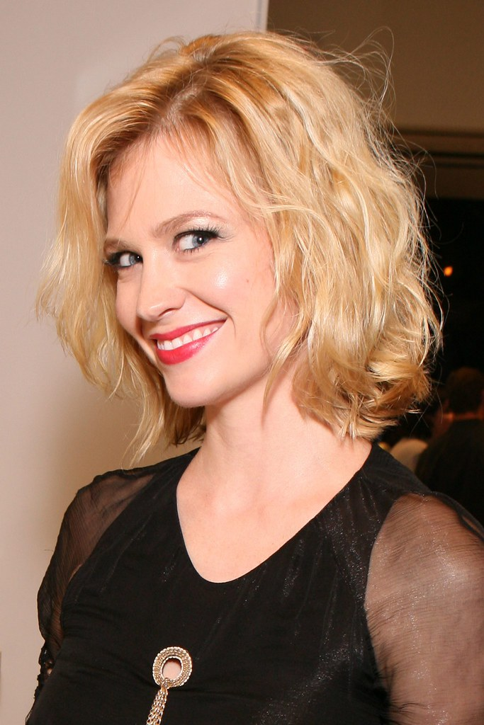 Actress, January Jones at Chanel Boutique Opening and Char…   Flickr