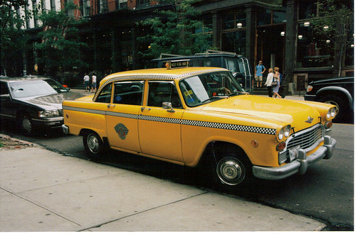Old New York City Taxi Cab Flickr Photo Sharing