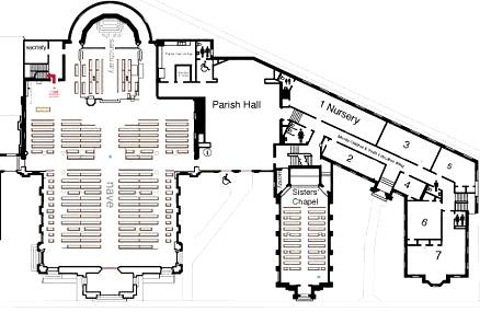 Ground Floor Plan St Mary 39 S Cathedral Memphis Click