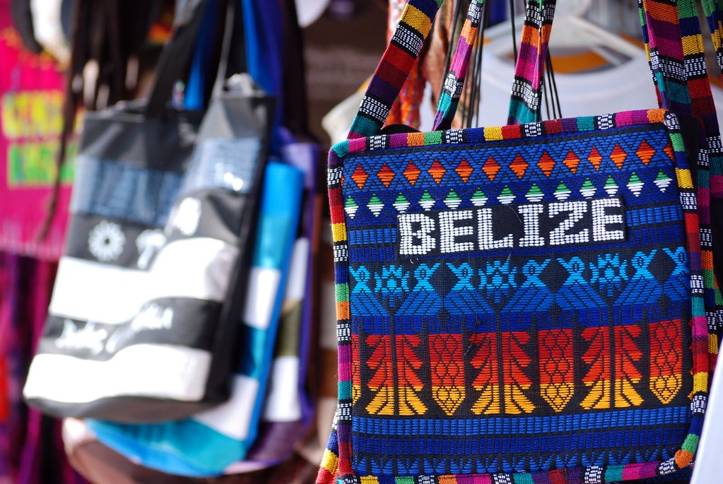 Bags In Belize Some Of The Colorful Items On Sale In The B Flickr