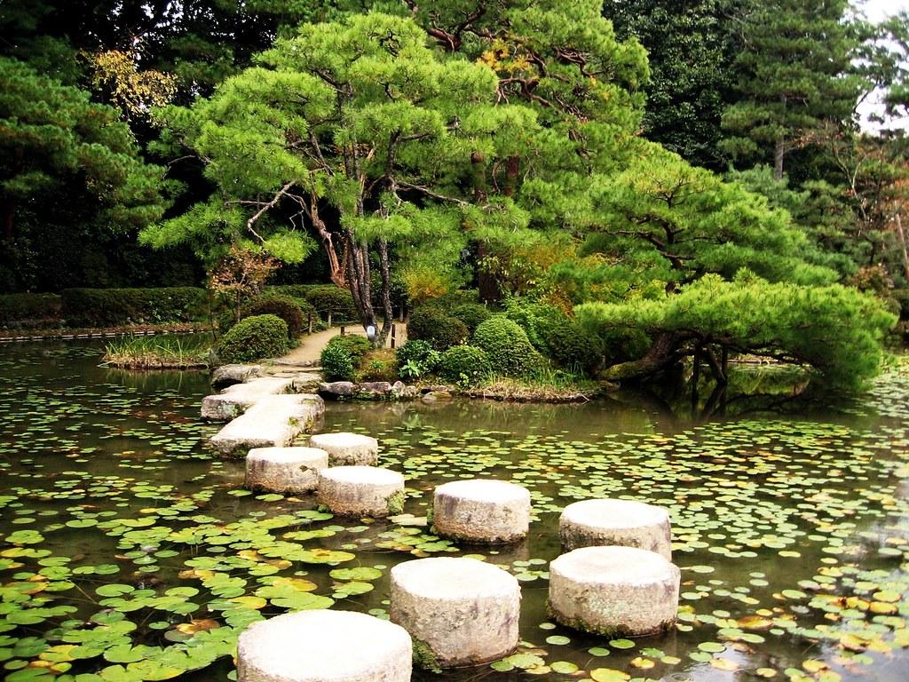 Gardens Heian Shrine Kyoto Gardens Heian
