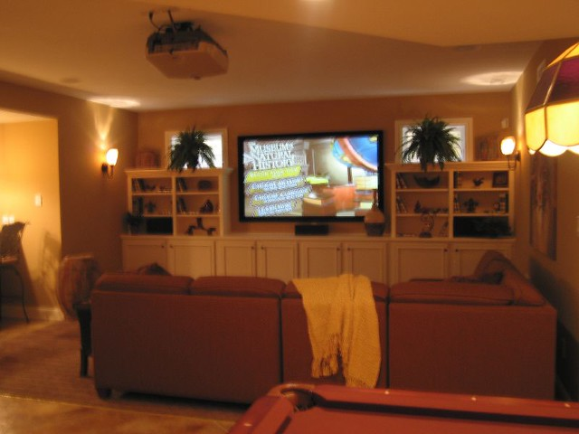 Theatre Room | Parade of homes, 2007 in Stonegate in ...