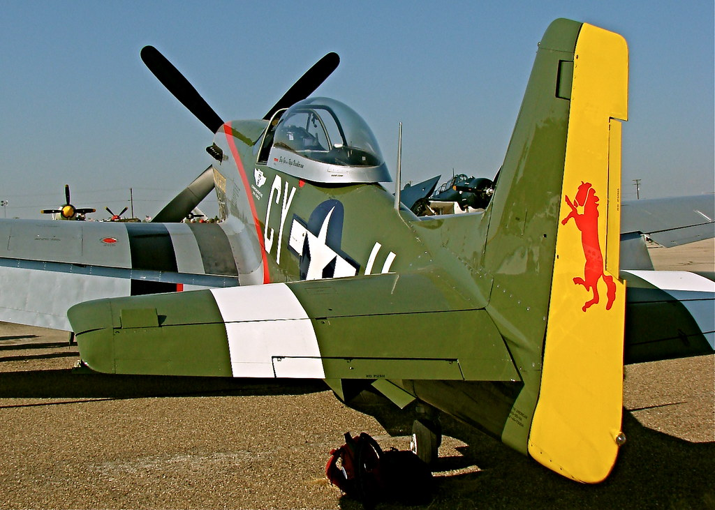 North American P 51 Mustang Quot Gunfighter Quot 2008