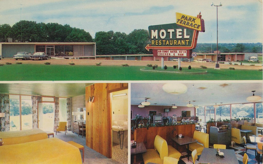 Park terrace motel and restaurant fulton kentucky flickr for Terrace 45 restaurant