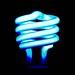 Blue Compact Fluorescent