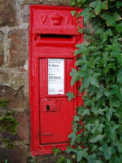 "November 8th ""Victorian Post Box CV7"" 