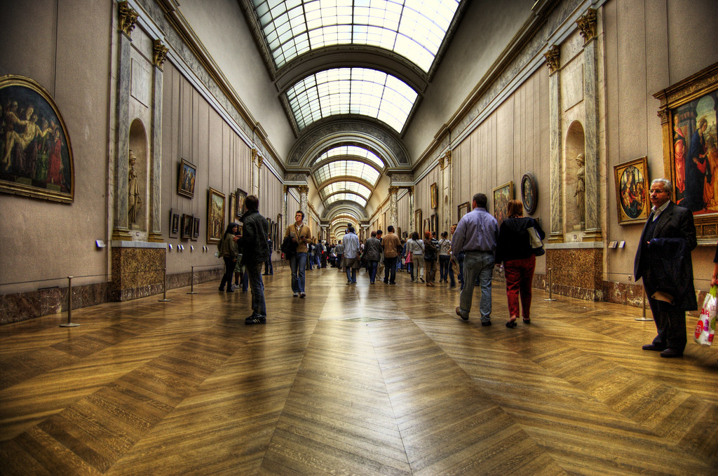 The Grand Gallery Louvre Mohan S Flickr