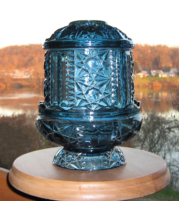 ... Indiana Glass Fairy Lamp   By Web Artist Designs