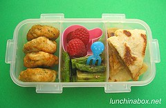 Pupusa bento lunch for preschooler | by Biggie*