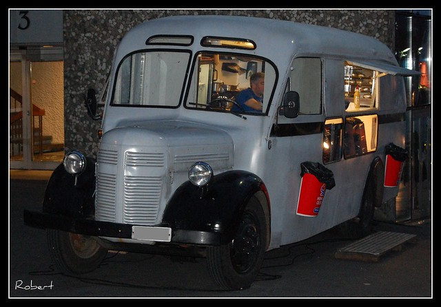 Proffessionel Camion Food Truck Occasion