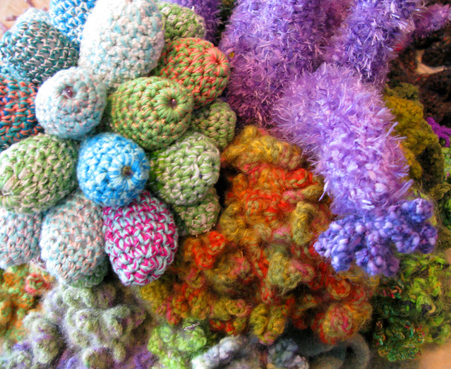 Hyperbolic Crochet Coral Reef Flickr - Photo Sharing!