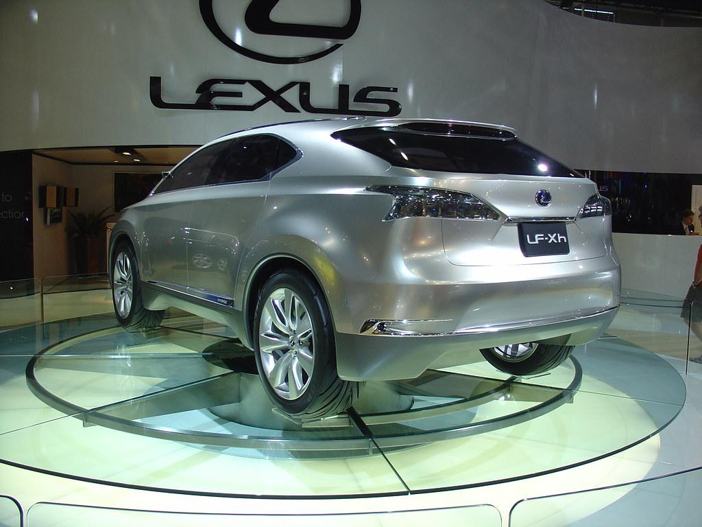 lexus lf xh water - photo #35