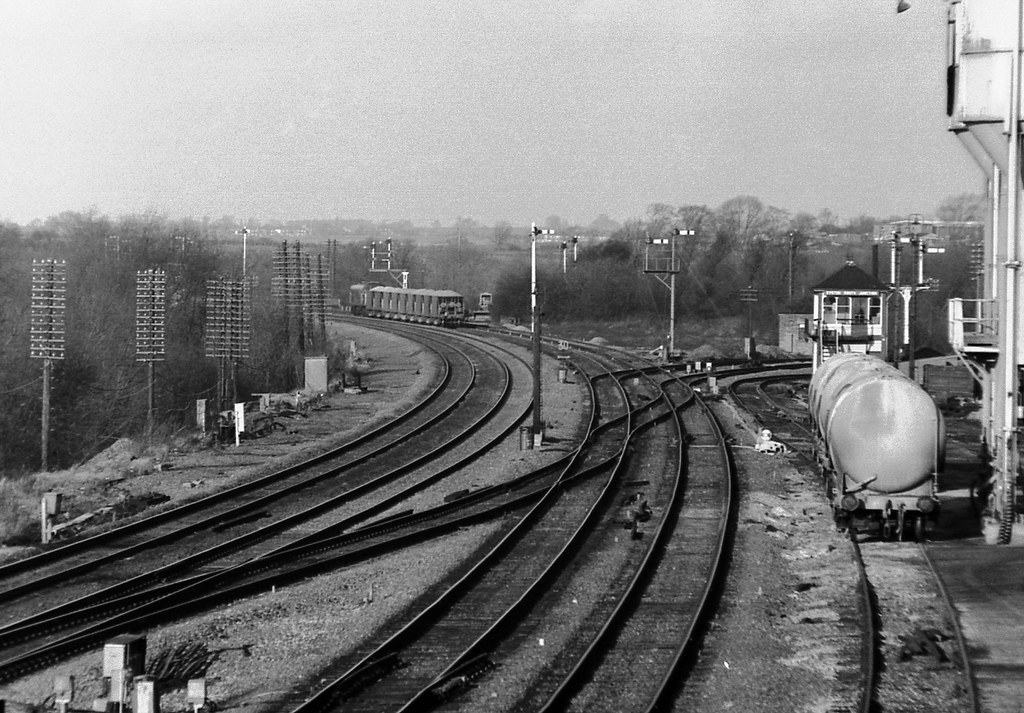 Leicester Syston Junction December 1974 A General