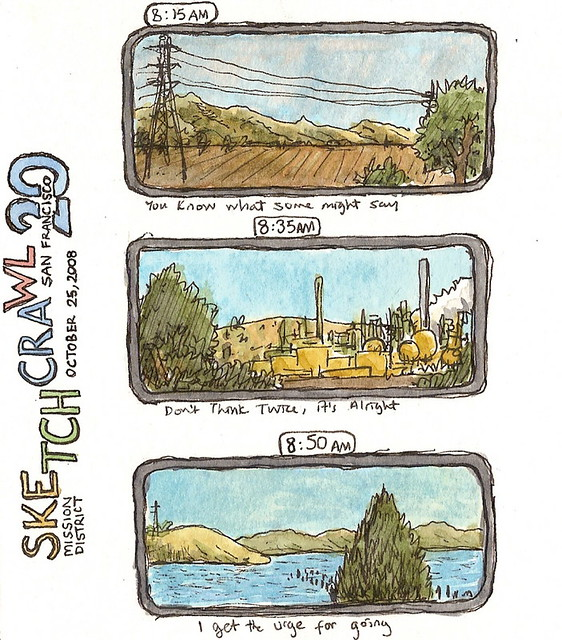 sketchcrawl 20: san francisco