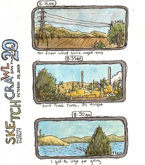 sketchcrawl 20: san francisco