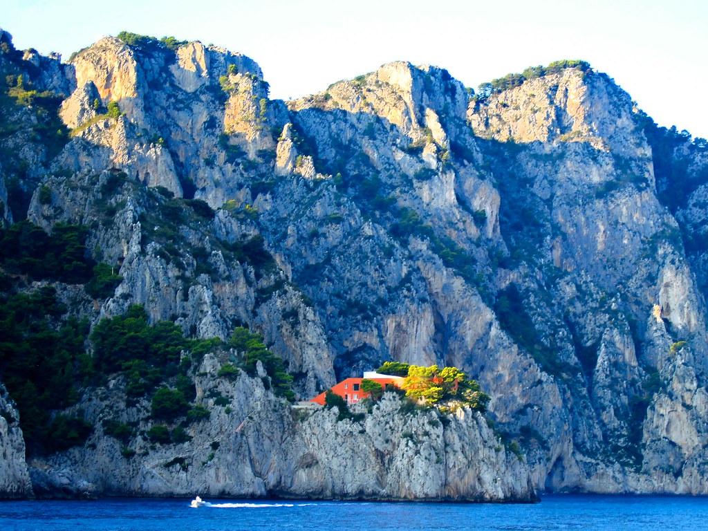 Villa malaparte capri italy moritz christian woldt for Villa curzio malaparte