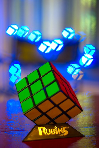 Rubik's bokeh | by MariekeSplinter