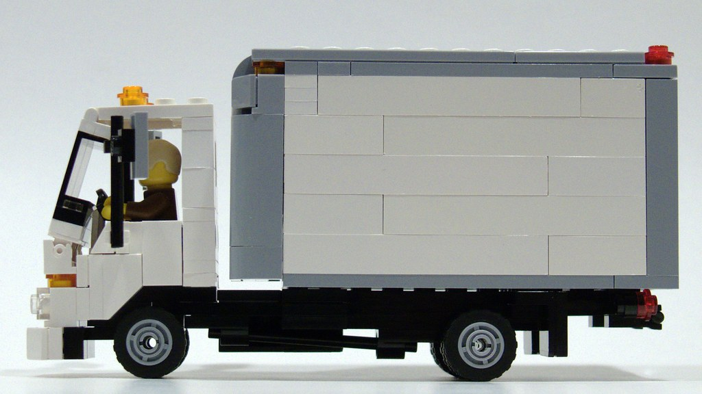Isuzu Npr Delivery Truck The Isuzu Npr Truck Is One Of