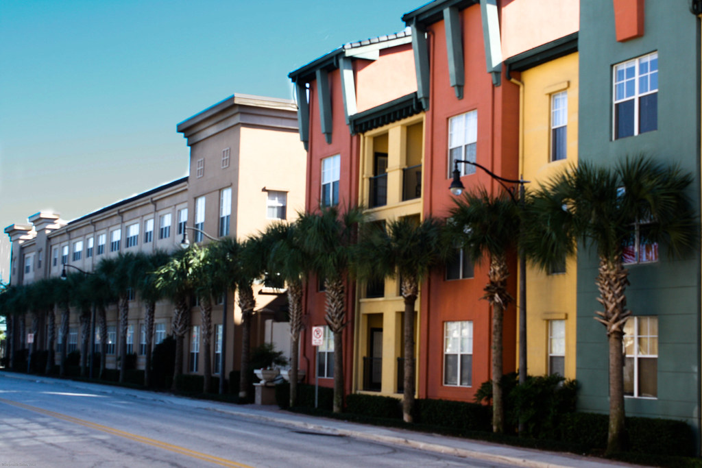 Tampa Florida An Apartment Complex In The Soho District