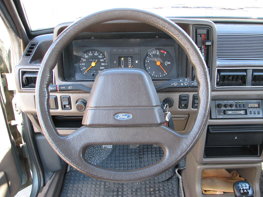 1985 Ford Escort GL LHD Interior | Some more Items from my ...