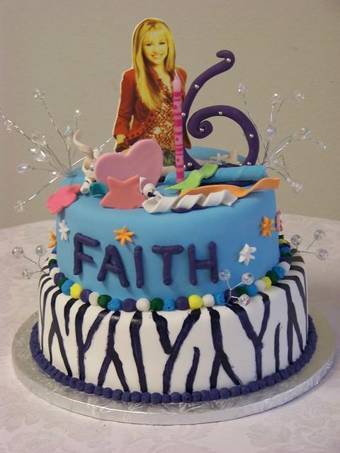 Hannah Montana Wild And Crazy Birthday Cake Flickr