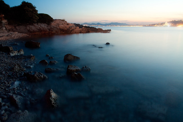 night photography at the cap d 39 antibes flickr photo sharing. Black Bedroom Furniture Sets. Home Design Ideas