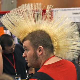 Phoenix Comicon 2011: Giant mohawk! | by kevin dooley