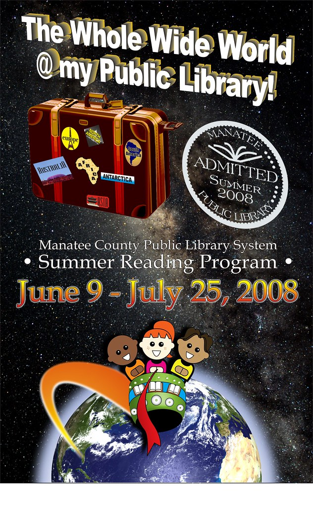 the manatee county public library system summer reading pr