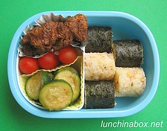 Chicken karaage bento lunch for preschooler | by Biggie*