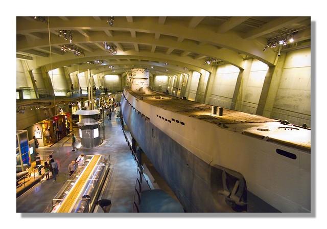 Museum Chicago u Boat u Boat U505 Chicago