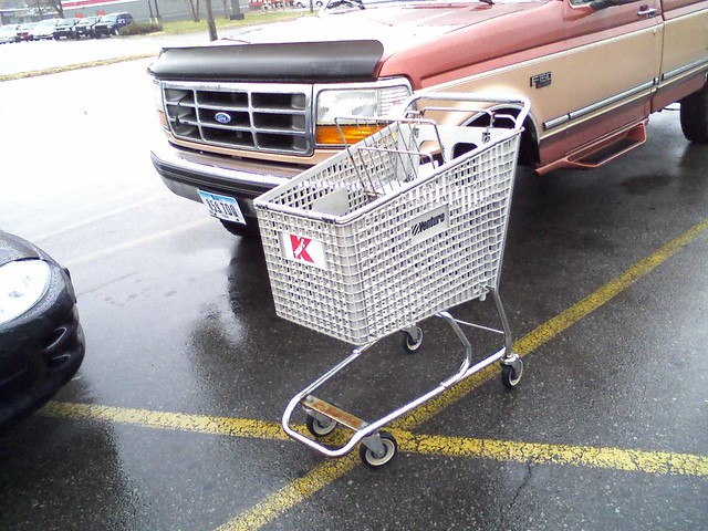 Kmart hubbell ave des moines iowa venture shopping cart
