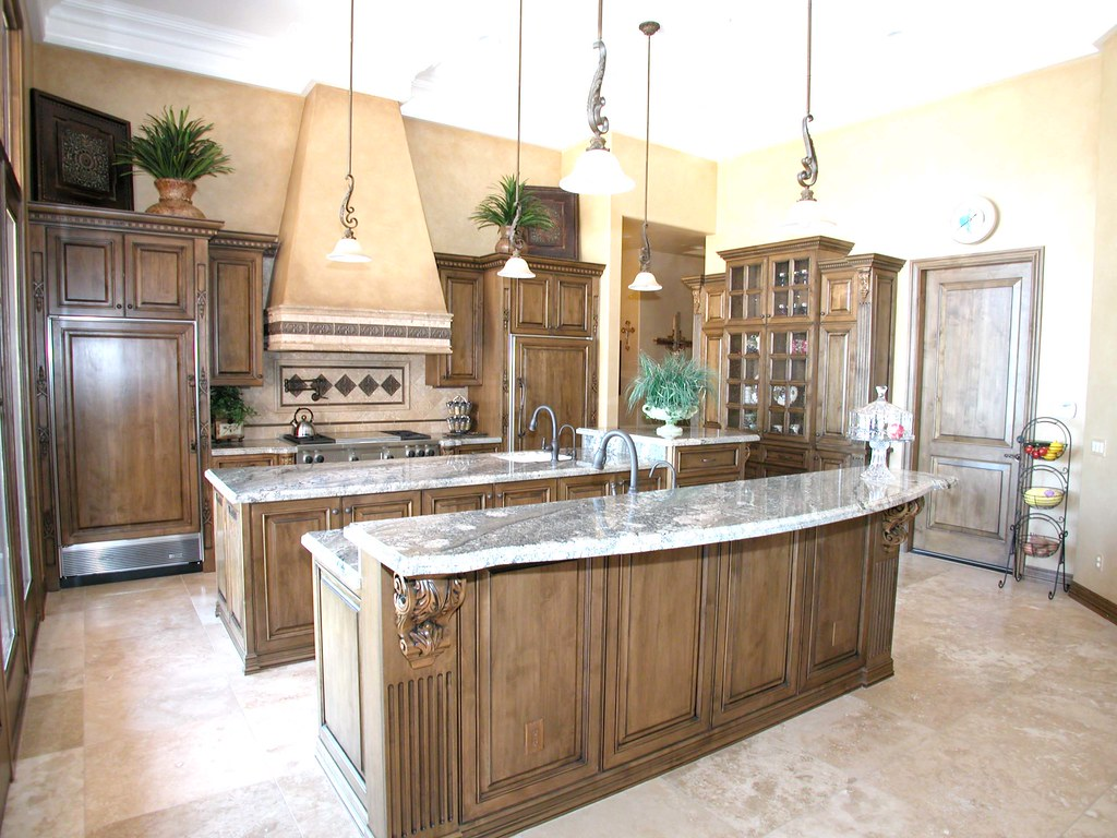 Large Kitchen Island Contemporary