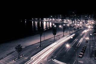 Montevideo - Rambla by night | by Romina Campos