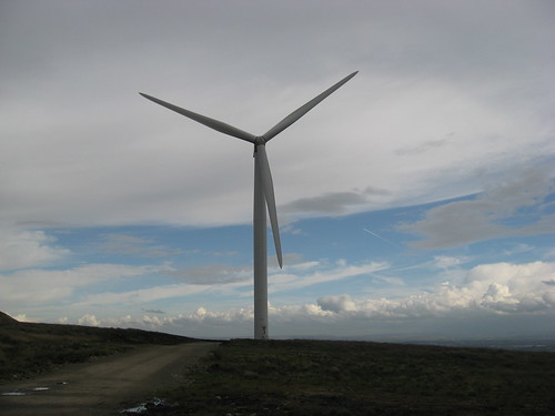 Scout Moor, Lancashire, Wind Turbine | by Gidzy