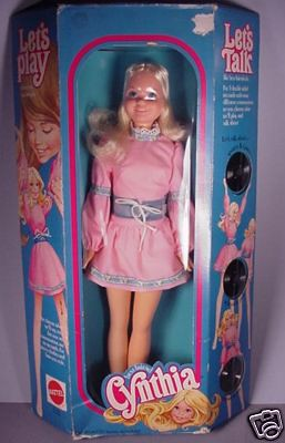 Mattel S Best Friend Cynthia 20 Vinyl Talking Fashion D